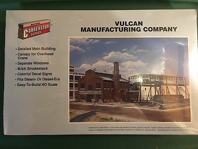 3045 Walthers Cornerstone Vulcan Manufacturing Company HO Scale