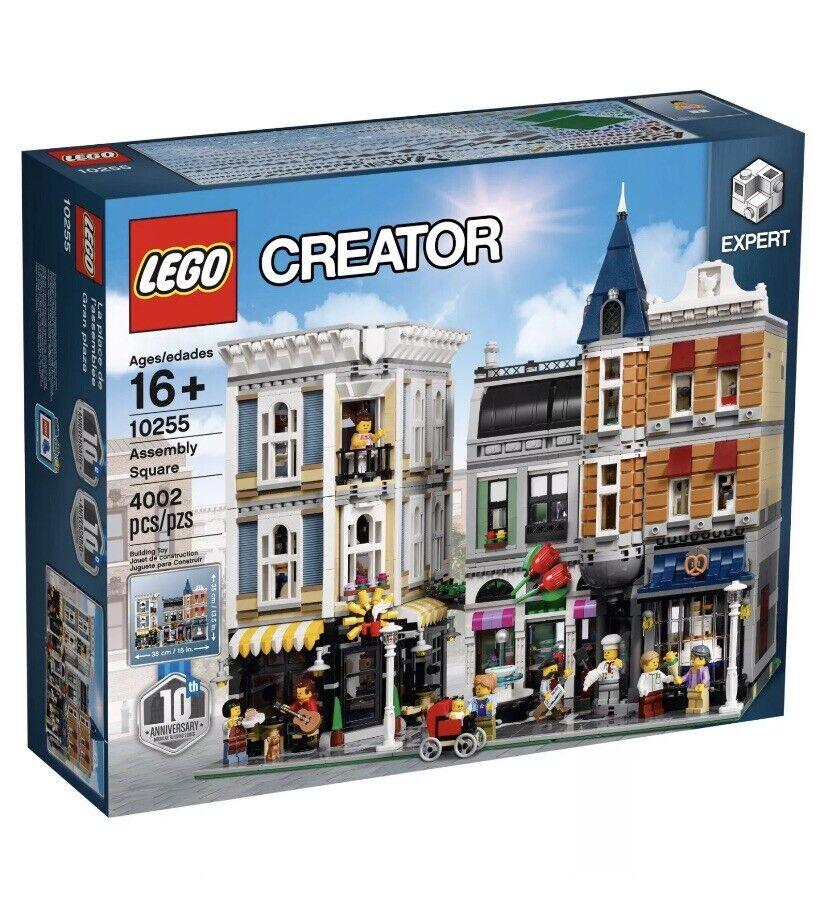 LEGO® Creator 10255 Cityleben Assembly Square NEU OVP BLITZVERSAND
