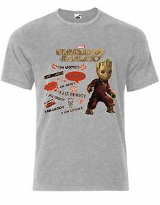Guardians-of-the-Galaxy-Vol-2-I-Am-Groot-Mixtape-Marvel-Mens-Tshirt-AL11