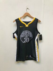 size 40 9e72e d19b9 Details about Nike Men's NBA Golden State Warriors 2018 Statement Jersey -  S - 30 - Grey - New
