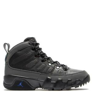 huge discount 0acba fc21a Details about AIR JORDAN 9 RETRO BOOT NRG AJ IX AR4491 001 BLACK/CONCORD -  WATER RESISTANT