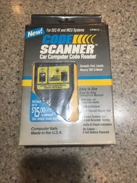 Actron Ford Lincoln Mercury Code Scanner CP9015