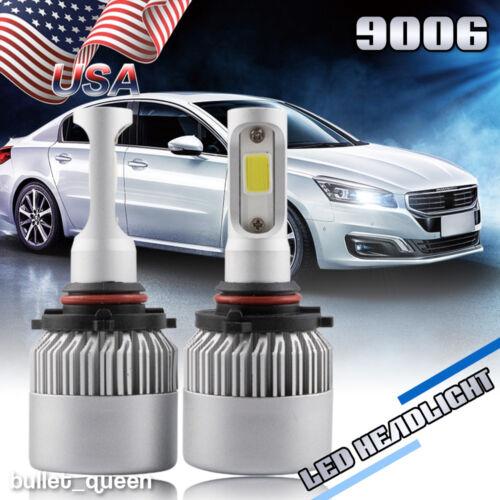 9006 HB4 CREE 1020W 153000LM LED Headlight Kit Bulb 6500K High Power vs 120w HID