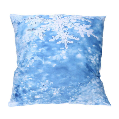 Universal Print Pillow Cases Polyester Sofa Cushion Cover Home Office Decor X9