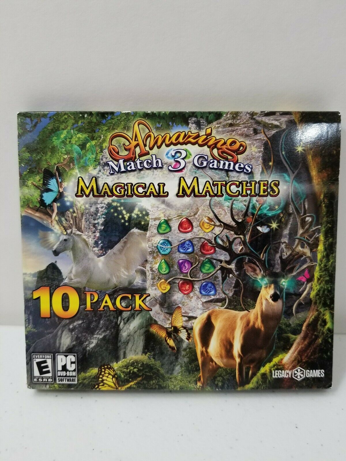 Magical Matches 10 Pack Amazing Match 3 Games Pc Game Free Shipping For Sale Online