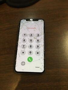 IPHONE X CRACKED