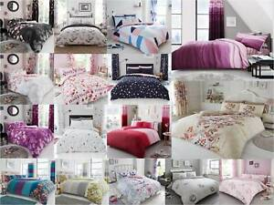 Duvet-Cover-with-Pillow-Case-Bedding-Set-Single-Double-King-All-Size-GC-NEW-P-R