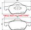 RENAULT MEGANE MK2 02-05 1.5 DCi /& 1.9 DCI FRONT 2 BRAKE DISCS /& PADS CHECK TYPE