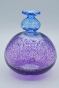 Kosta Boda Antikva series vase by Bertil Vallien Purple /& Blue 48008 Artist Collection
