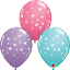 6-x-11-034-Printed-Qualatex-Latex-Balloons-Assorted-Colours-Children-Birthday-Party thumbnail 57