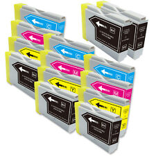 14 PK NEW Premium Ink Set for Series LC51 Brother MFC 230C 240C 440CN 465CN