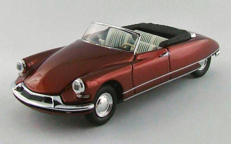 Citroen DS19 Cabrio 1962 Bordeaux 1 43 Model RIO4428 RIO