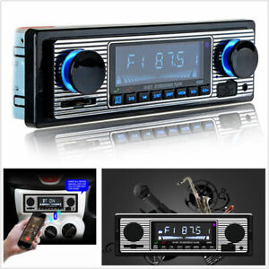 Autoradio-1-DIN-radio-de-coche-MP3-bluetooth-manos-libres-car-USB-SD-AUX-In-Dash