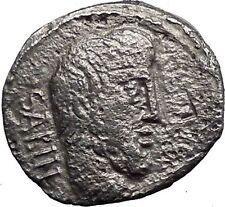 Roman Republic Titurius,Sabinus King Tatius Ancient Silver Coin Very rare i33544