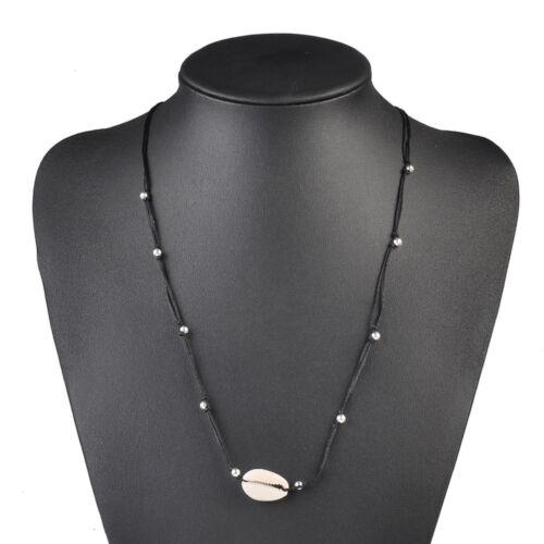 Boho Shell Choker Necklace Women Natural Shell Jewellery Chocker Simple Neckless