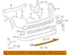TOYOTA OEM 14-18 Highlander Rear Bumper-Extension Panel 521510E040