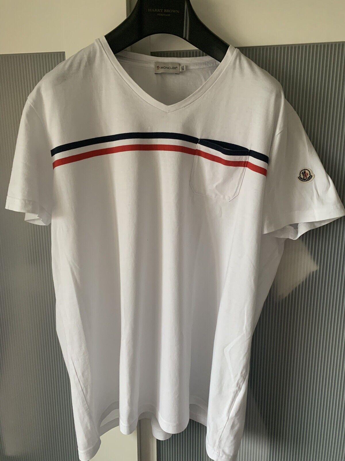 Moncler men short sleeve tshirt top 100% authentic ultra rare
