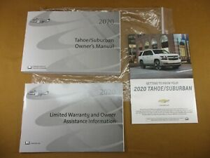 Details About 2020 Chevy Chevrolet Tahoe Suburban Owner S Manual Warranty Booklets