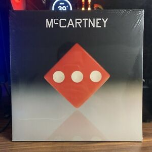 Paul McCartney III 3 Exclusive Third Man Records Version Red Vinyl LP #4787/9200