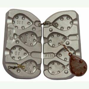 Grip-Lead-Mold-70g-80g-90g-110g-sinkers-Mould-Carp-Sea-Fishing-molds