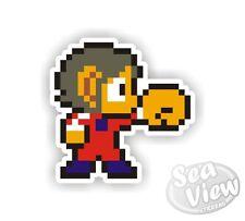 Alex the Kid Car Van Sticker Stickers Decal Sticker Retro Vintage Gaming Game