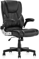 New Listingb2c2b Leather Executive Office Chair High Back Computer Desk Chair With Seat H