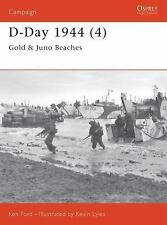 Campaign: D-Day 1944 (4) : Gold and Juno Beaches 112 by Ken Ford (2002, Paperba…