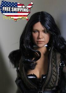 """1//6 Michelle Rodriguez Head Sculpt Fast /& Furious pour Hot Toys 12/"""" Phicen corps"""