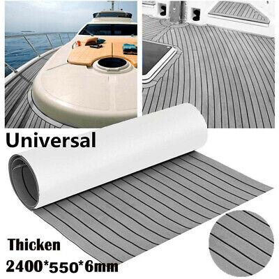 "21.7/""X94/"" EVA Marine Boat Flooring Car Truck RV 6mm Self-Adhesive Anti-skid Pad"