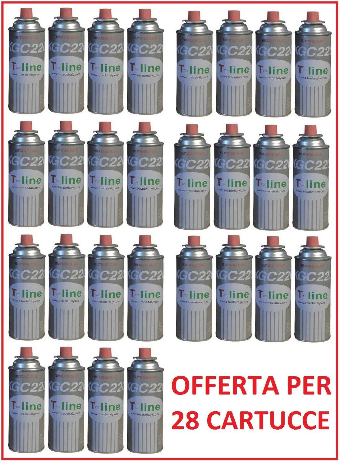 BOMBOLETTA CARTUCCIA CARTUCCE GAS GAS GAS DA 250 GR  PER FORNELLO BISTRO -- 28 PEZZI -- 081cf1