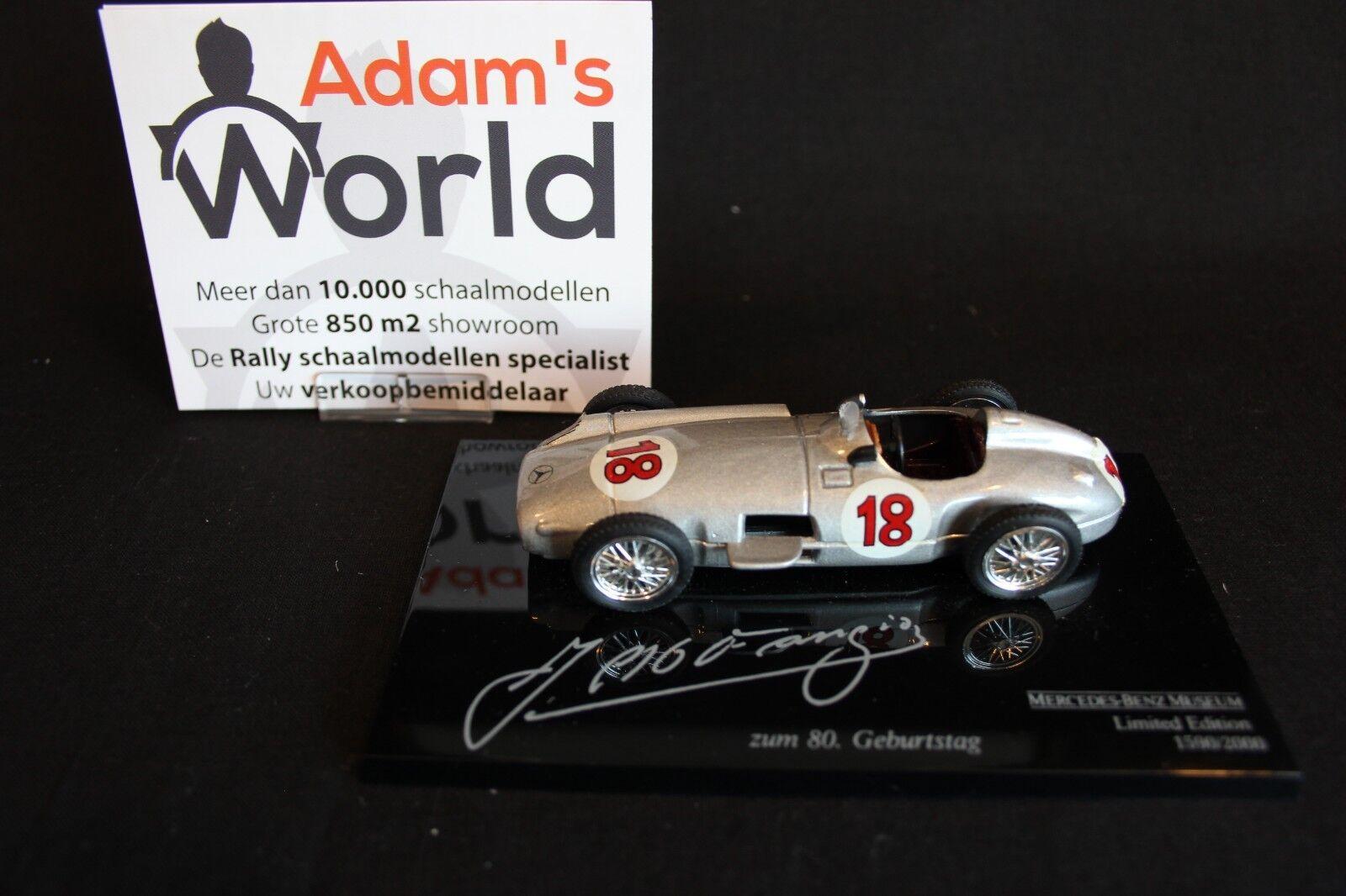 Brumm Mercedes-Benz W196 1954 1 43 Juan Manuel Fangio   2.000 (JS)