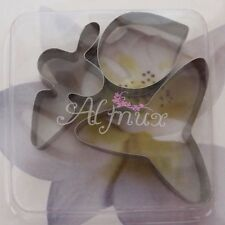 3 x Stainless Steel Orchid Cutter Cookie Fondant Cake Paste Mold Tool TAB