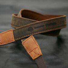 MATIN D-SLR RF Mirrorless Camera Leather Neck Shoulder Strap Vintage-20[Brown]