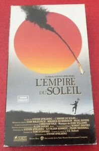 RARE-VHS-French-Movie-L-039-empire-du-Soleil-Version-Francaise-Steven-Spielberg