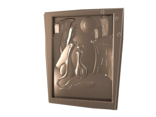Assignation 3d STL Model CNC 038 Router Engraver Carving Machine Relief Artcam