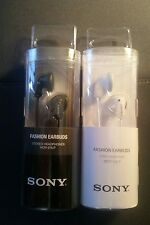 (2) SETS New Sony MDR-E9LP In-Ear Stereo Audio Earbud Earphones Headphones