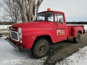 1959 International Harvester B120 3/4 ton 4 X 4 - Survivor!