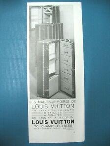 PUBLICITE-DE-PRESSE-VUITTON-MALLES-ARMOIRES-30-TYPES-DIFFERENTS-AD-1932