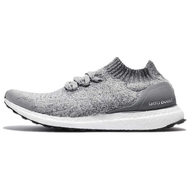competitive price 28c38 f877c New Men's ADIDAS Ultra Boost Uncaged BY2550 Grey Running Shoes