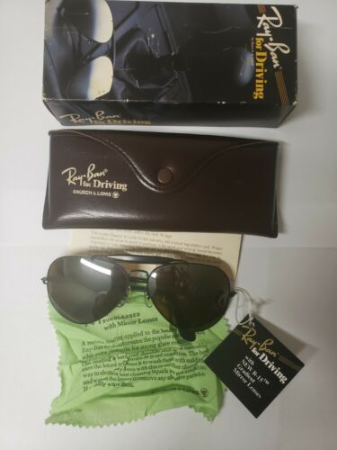 Ray Ban Vintage 1980s Bausch & Lomb Driving Outdoo