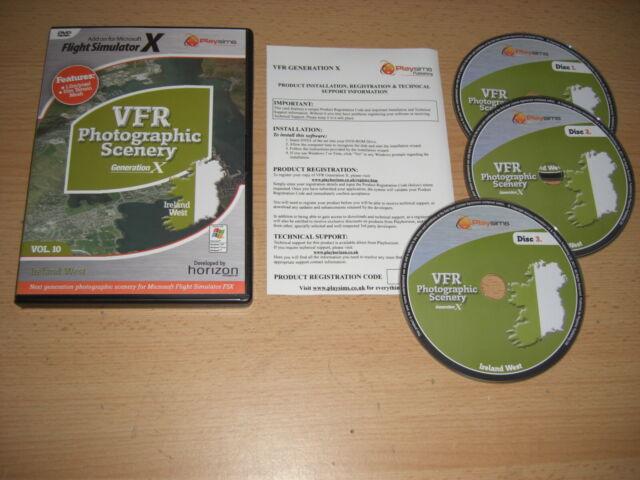 VFR Photographic Scenery Generation X Vol  10 Ireland West - Fast DISPATCH
