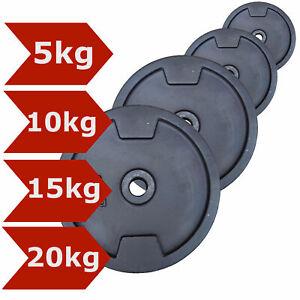 Hantelscheiben-Guss-Set-30mm-5-10-15-20-kg-Hantel-Gusseisen-Gewichte-Scheiben
