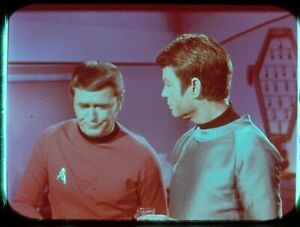 Star-Trek-TOS-35mm-Film-Clip-Slide-The-Tholian-Web-McCoy-Scotty-Drinking-3-9-2