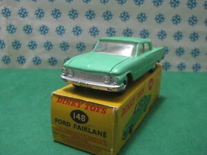 Vintage - Ford Fairlane Vn Menthe Dinky Toys 148