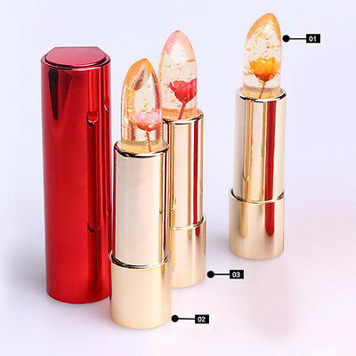 Jelly Flower Lipstick Color Changing Long Lasting Moisturizing LipGloss Beauty