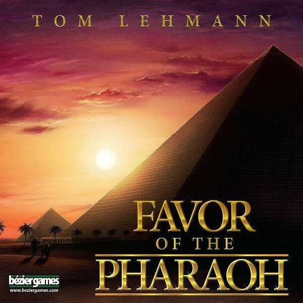 NIB Favor of the Pharaoh game, sealed, ages 13+, 2-4 players, 45 minutes