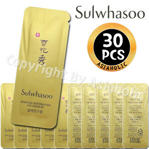 Sulwhasoo-Essential-Rejuvenating-Eye-Cream-EX-1ml-x-30pcs-30ml-Sample-Newist
