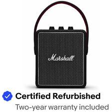Marshall Stockwell II Portable Wireless Bluetooth Speaker - Black