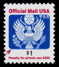 O161 Official Mail $1 Dollar Great Seal Perf 11¼ Sheet Single 2006 MNH - Buy Now