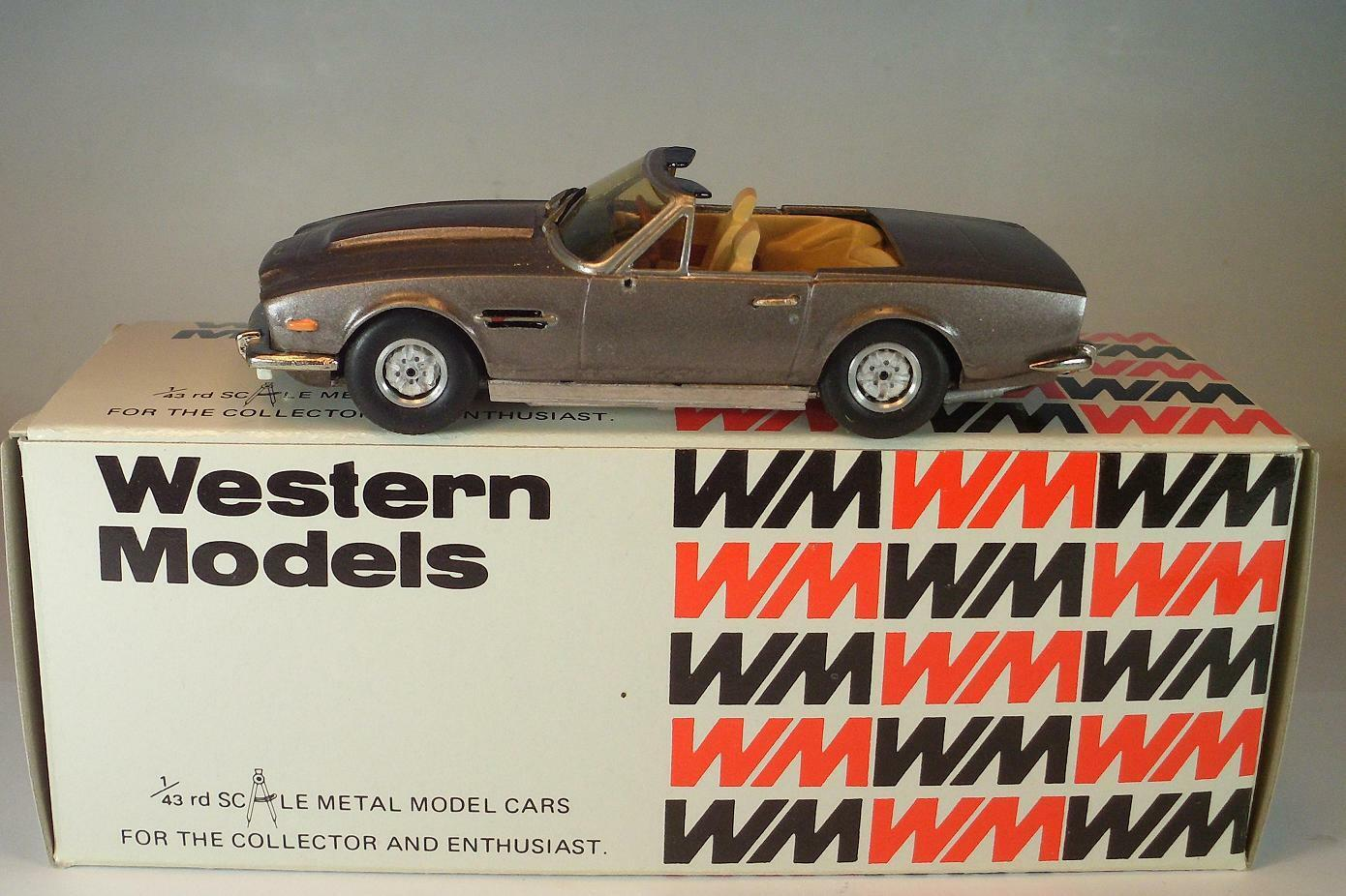 Western models 1 43 nº 109z WP aston martin volante converdeible OVP